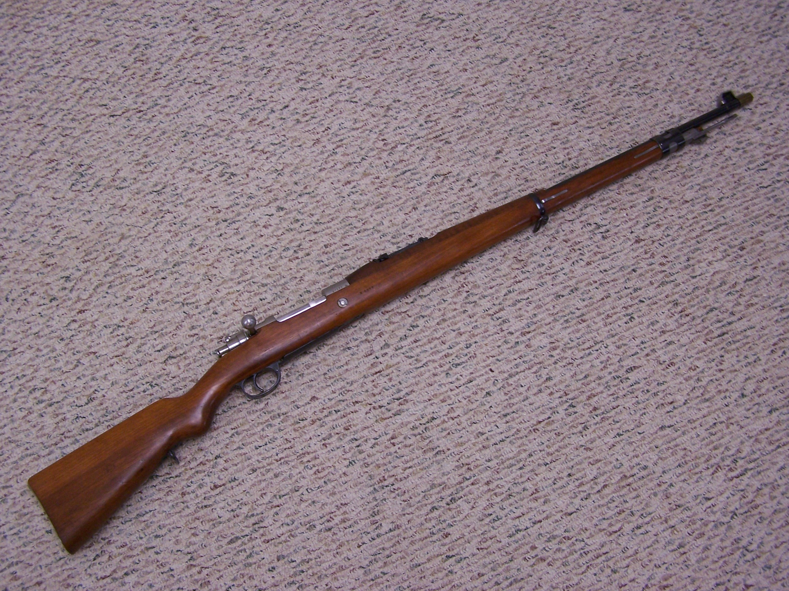 ARGENTINE CONTRACT MAUSER MODEL 1909 7.65, SUPERB
