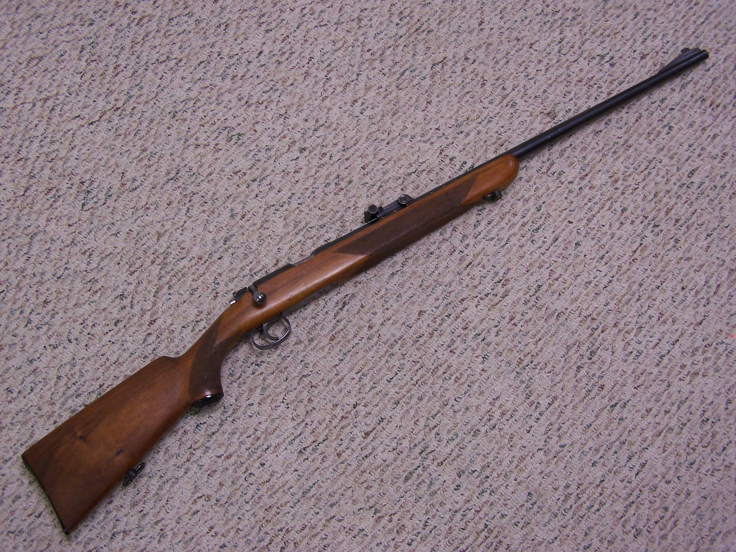 MAUSER 350B DELUXE .22 MATCH RIFLE