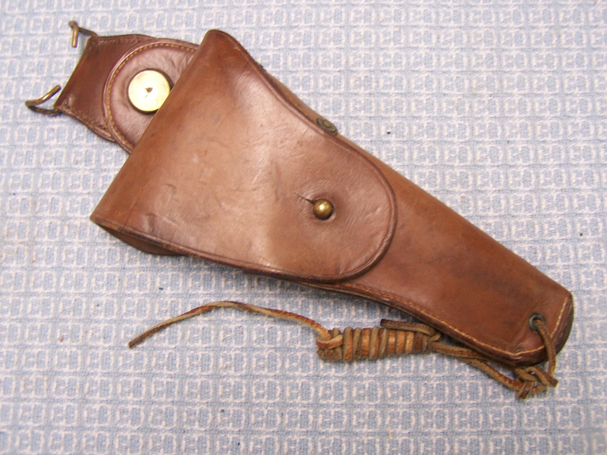 COLT 1911 M1912 CAVALRY R.I.A. 1917 BROWN HOLSTER