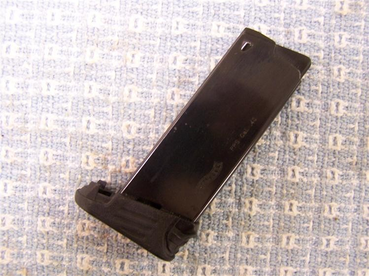 WALTHER PPS .40S&W FINGER-EXTENSION MAG.