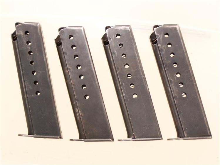 WALTHER P38 EARLY NUMBERED MAGS.