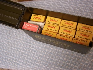 NORINCO 7.62X39 AND MORE IN GI CAN, 240RDS.