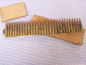 7.7JAP. AMMO ON 30RD. BRASS FEED STRIP PLATE IN BOX