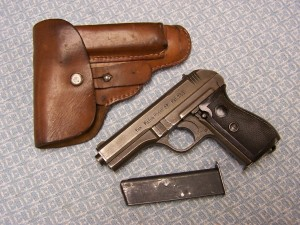 CZ27 LATEWAR FNH PHOSPHATE .32 W/2 MAGS & HOLSTER