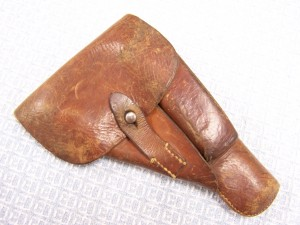 BROWNING P35 DLA44 BROWN WWII HOLSTER