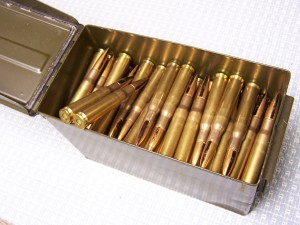 .50BMG AMMO IN GI CAN (W/PROVENANCE)